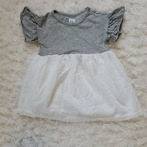 12-18 Month Baby Girls GAP Dress Eyelet bottom